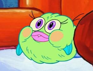 The One Fish On Spongebob That Always Scream Ow My Leg Buying