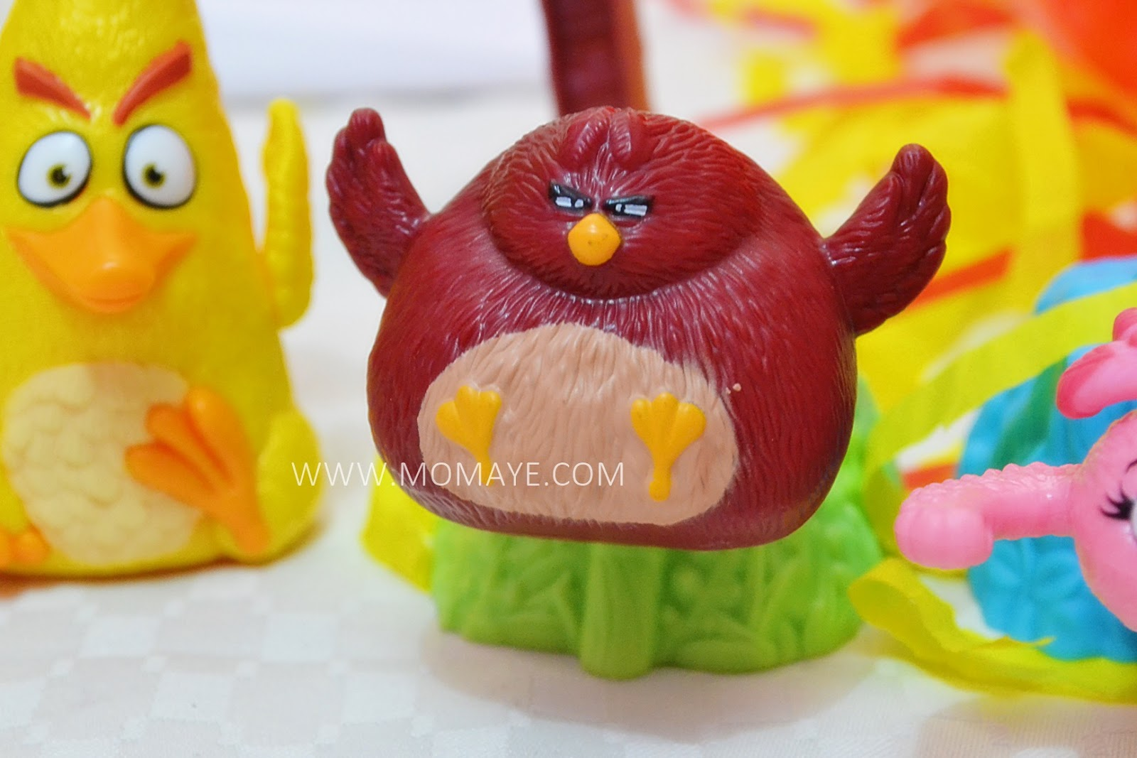 Anger Bird Toy : The mcdohappymeal angry birds toys