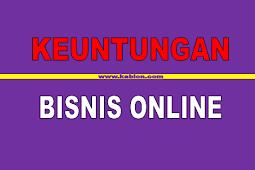 Keuntungan berbisnis secara online
