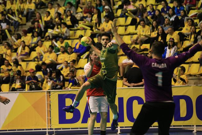 Brasil vence a Canadá- Cuatro Naciones Handball
