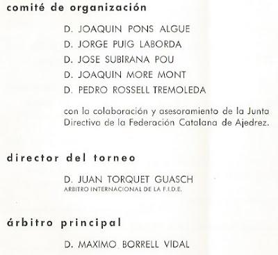 Comité de organización y árbitros del IX Campeonato de España Femenino 1965