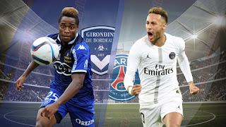 Watch Bordeaux vs PSG live Streaming Today 02-12-2018 France Ligue 1