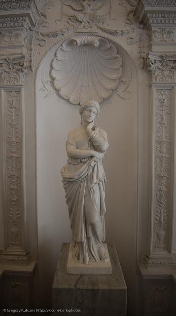 Ливадийский дворец. Интерьеры. скульптура
