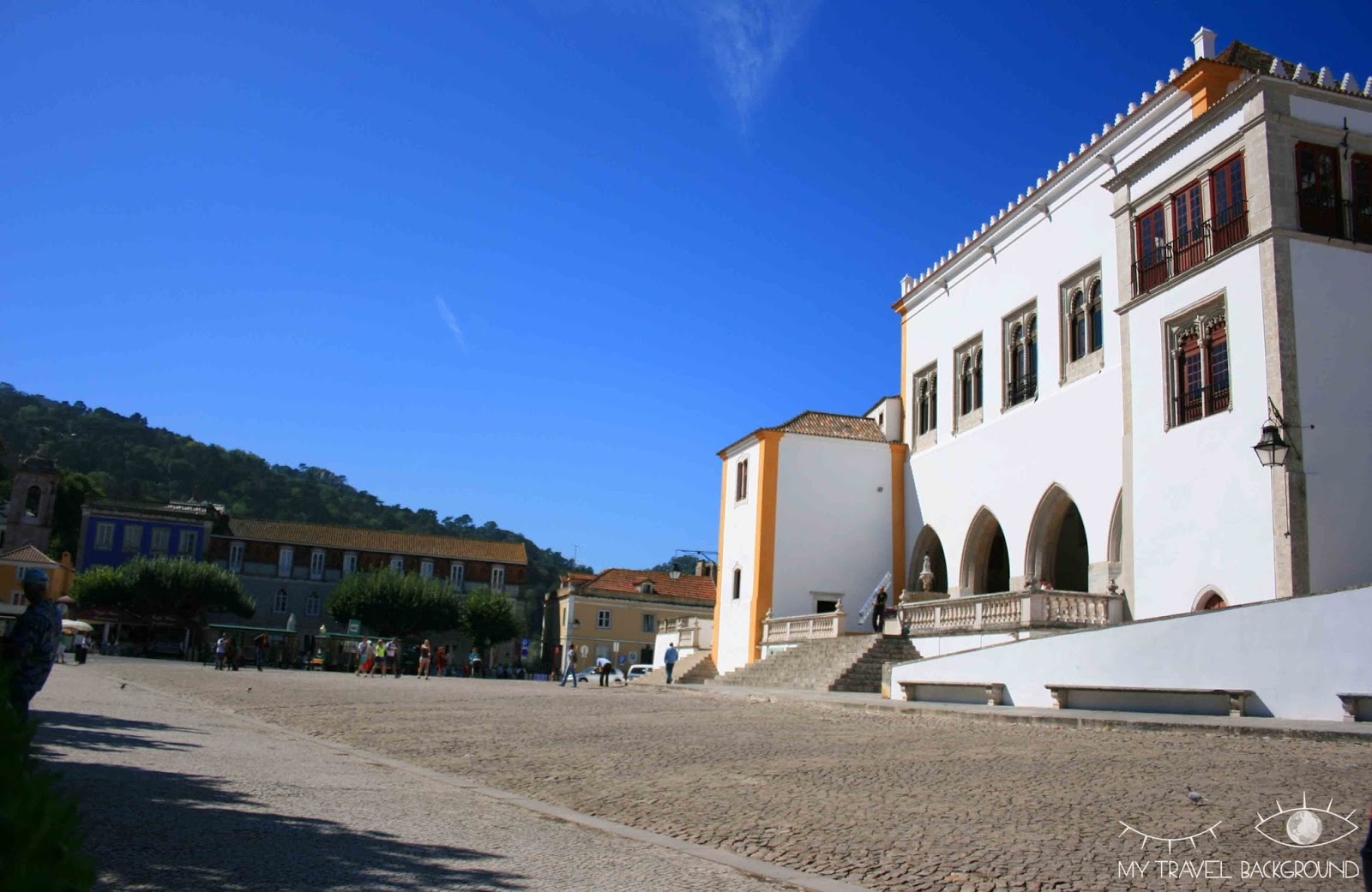 My Travel Background : Escale à Sintra, au Portugal - Le Palais National de Sintra