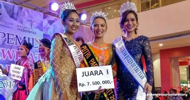 Ireni Alexandria Garu Jadi Putri Wisata NTT 2017