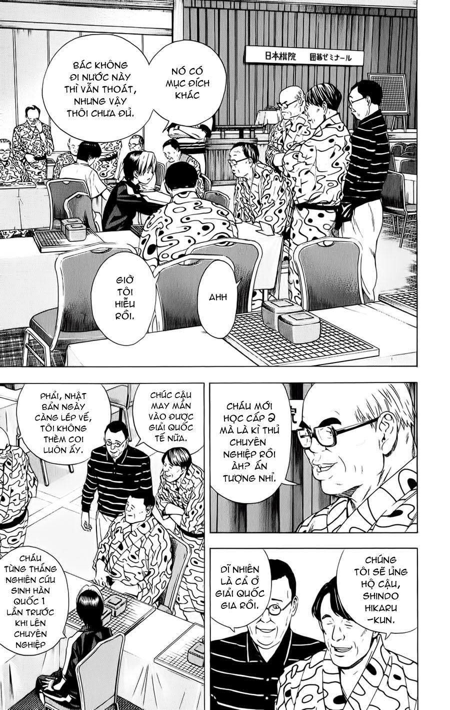 Hikaru No Go hikaru no go chap 123 trang 14