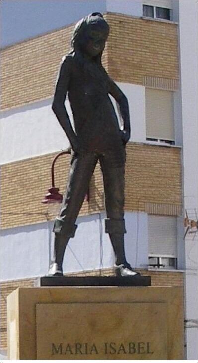 Antes muerta que sencilla Ayamonte Capricornio Discos España Eurovision Huelva Maria Isabel estatua ShurKonrad 2