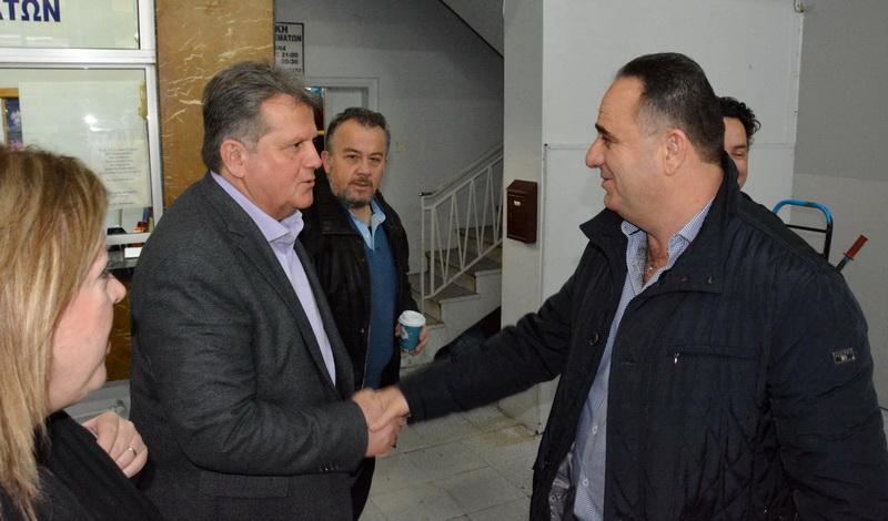 Επίσκεψη του υποψηφίου Δημάρχου Αλεξανδρούπολης Βαγγέλη Μυτιληνού στο ΚΤΕΛ Έβρου