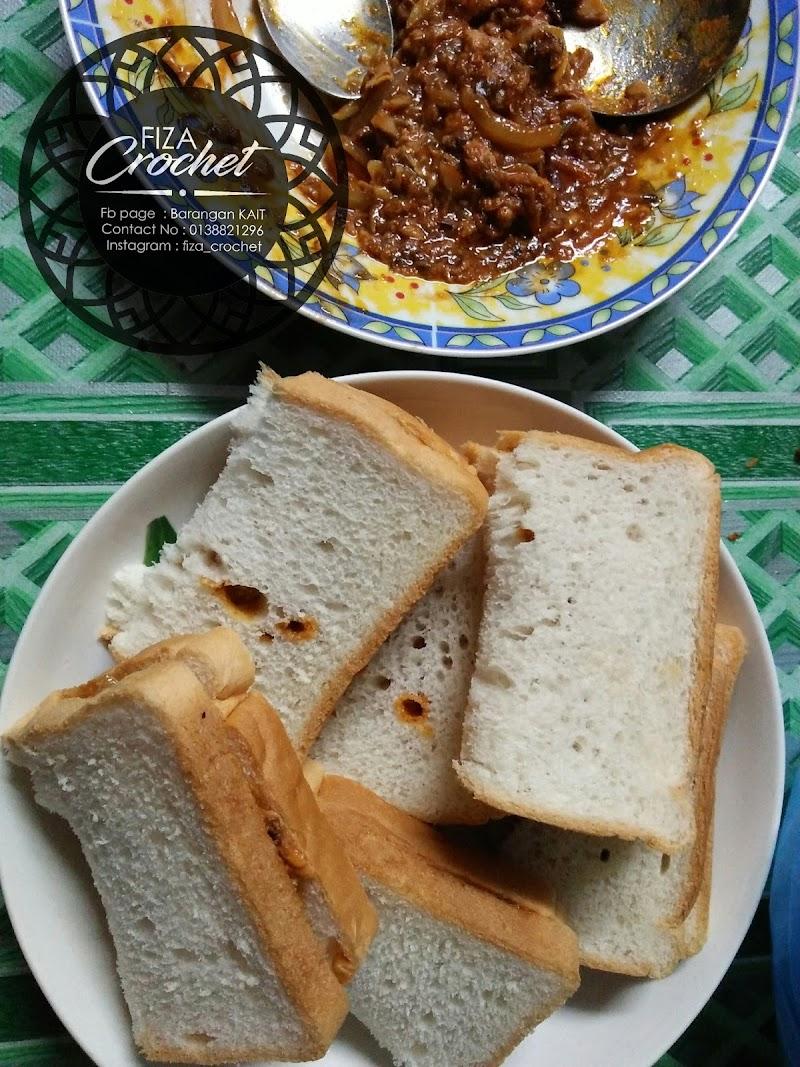 Roti sardin simple dan mudah