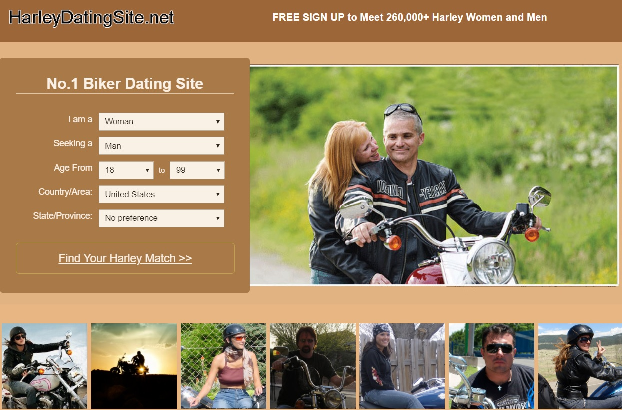 Harley Davidson Dating Site for Single Harley Riders