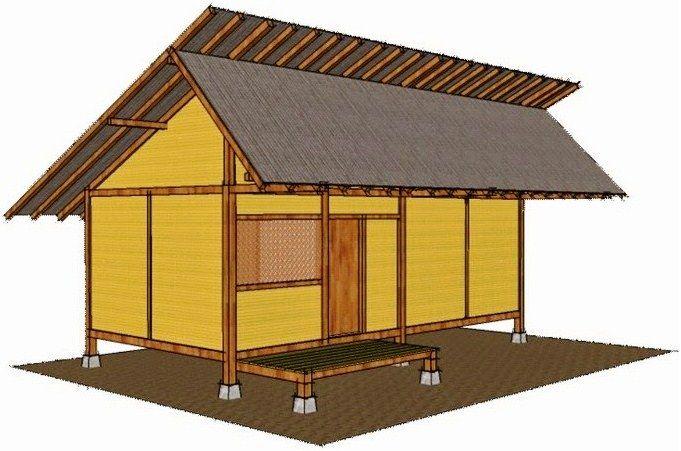 Gambar Sketsa Rumah Adat Betawi Jj Rumah