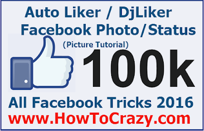 How To Use Auto Liker / DjLiker 2016 To Get Unlimited Facebook Likes, Comments (Photo, Status)