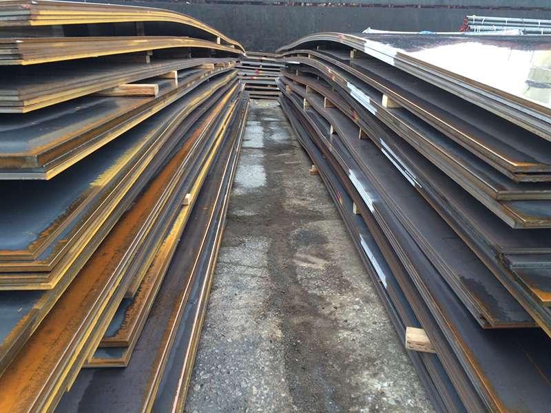 Thép đóng tàu tại công ty Thép Bắc Việt