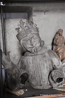 Cathédrale de Clermont-Ferrand.saint Michel