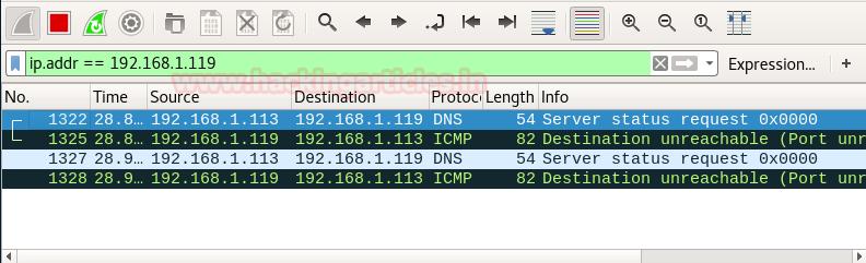 Understanding Nmap Scan with Wireshark