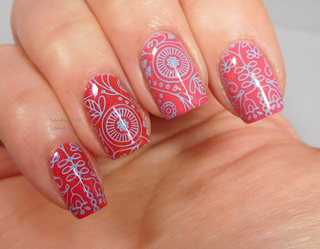MoYou London Scandi 07 over Blue-Eyed Girl Lacquer Best-Selling Show and A Love Such As This