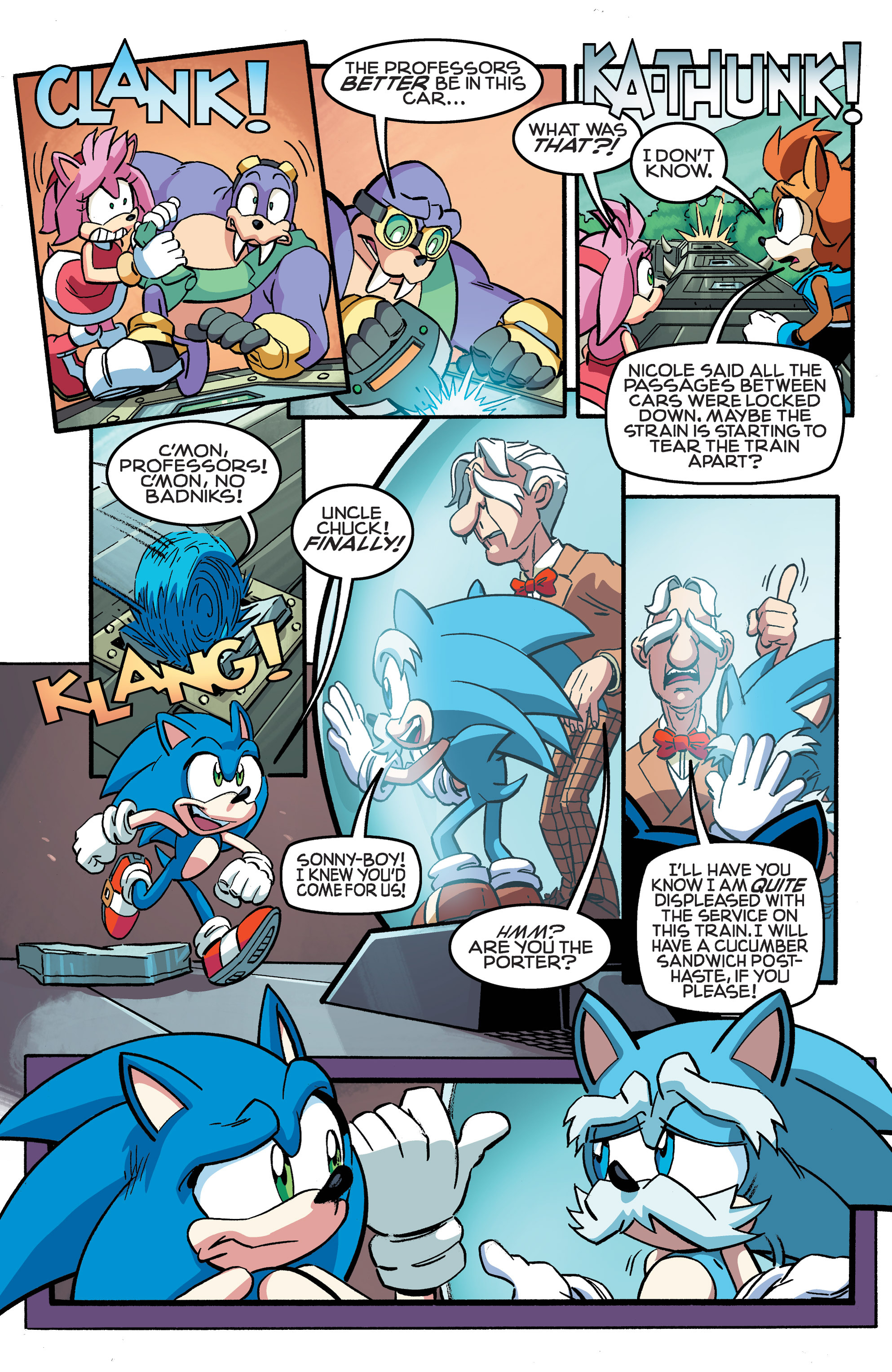 Read online Sonic The Hedgehog comic -  Issue #258 - 23