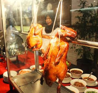 Pilihan makanan di Expo Resto Jakarta Fair