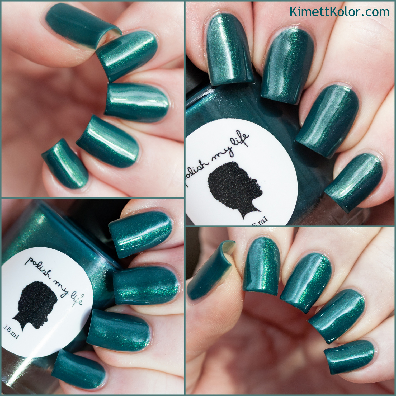 KimettKolor Swatch Morning Dew Polish My Life