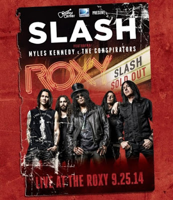 Slash with Myles Kennedy & The Conspirators DVD Live At The Roxy 25.9.14