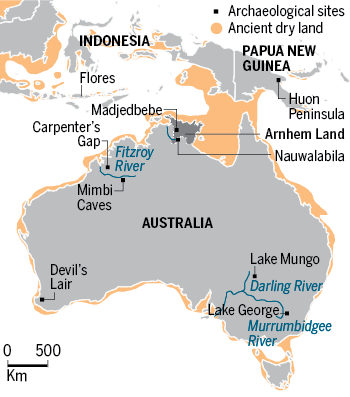 Map Of Australia 60000 Years Ago.New England S History Mapping The Path Of Human Progress