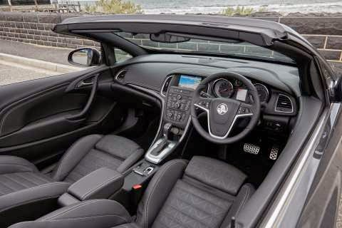Interior of the new Holden Cascada