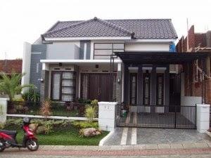 contoh desain rumah minimalis 1 lantai