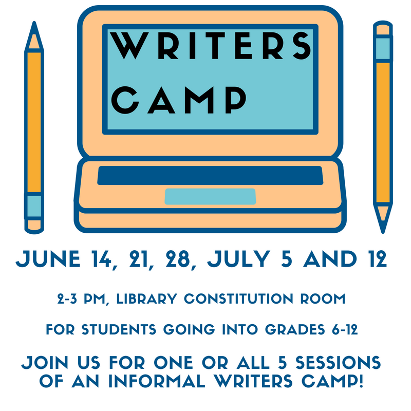 Writers Camp 2018