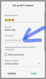 Hotspot ka password kaise change kare