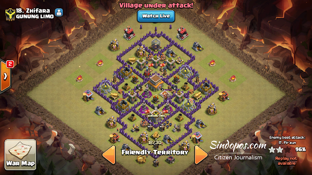 Formasi-War Base-TH-8-Anti-Perfect