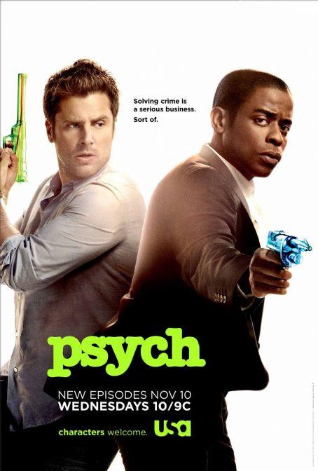 XYUENX: Psych, On TV