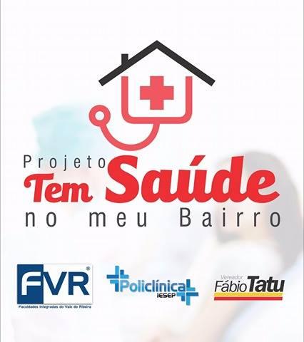 """Projeto """"Tem saúde no meu bairro"""" no Jardim Paulistano em Registro-SP"""