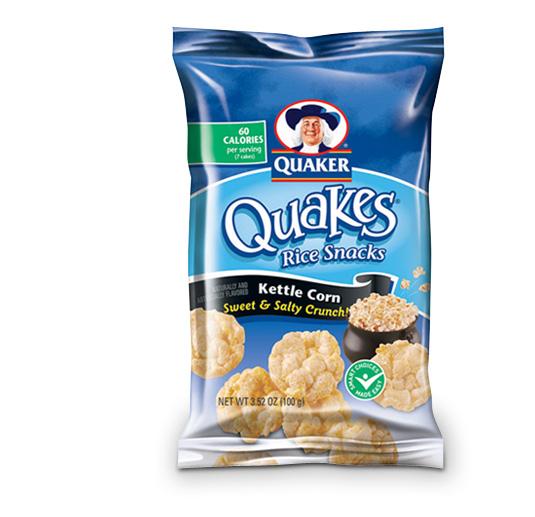 Quaker Oats Rice CakesQuaker Rice Cakes Ingredient List