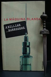Portada del libro La máquina blanda, de William Burroughs