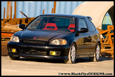 Modified Honda Civic Custom carbon