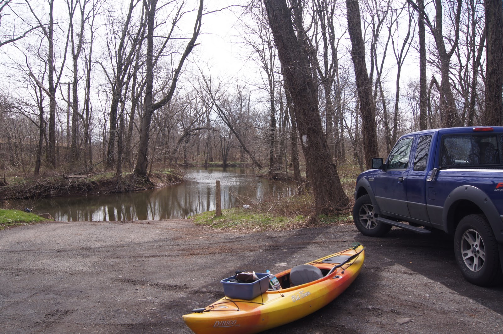 Millstone River NJ April 2011