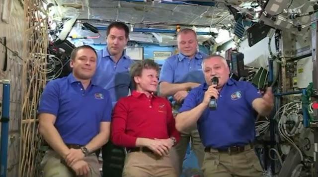Στον Πόντιο κοσμοναύτη Θεόδωρο Γιουρτσίχιν η διοίκηση του Διεθνούς Διαστημικού Σταθμού