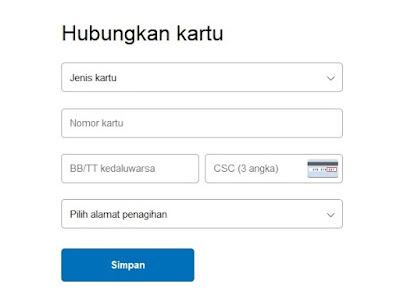 Cara verifikasi paypal terbaru dengan Bank Permata 5
