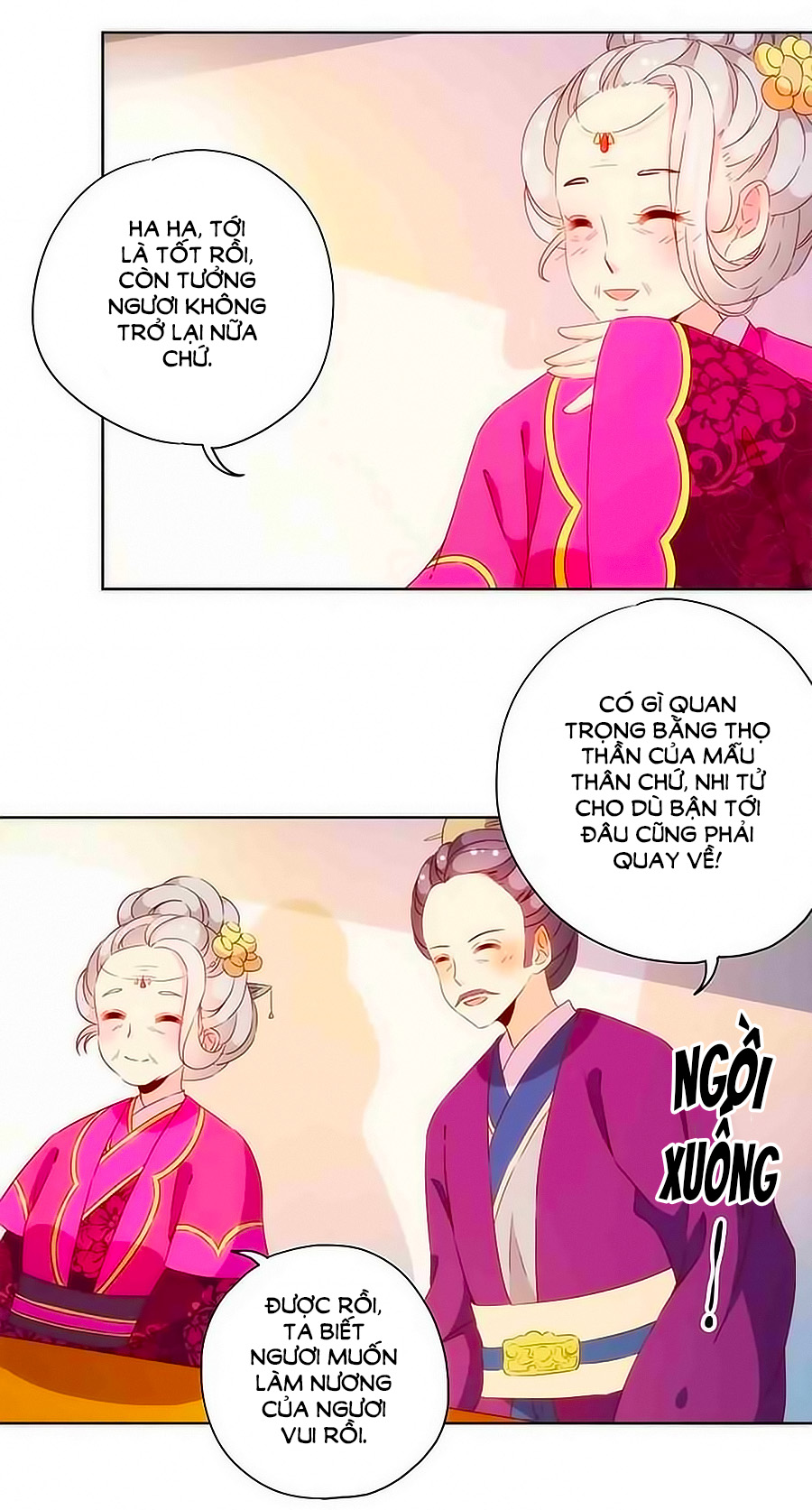 Hoàng Hậu Nương Nương Đích Năm Xu Đặc Hiệu - Chap 72