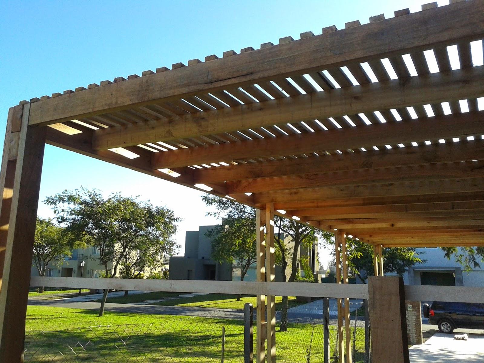 Zinka techos pergolas de madera y metalicas - Techos para pergolas de madera ...