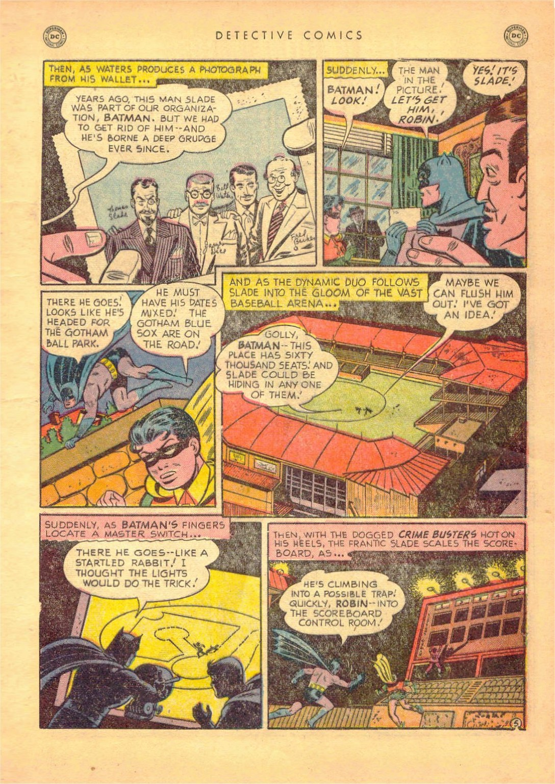 Read online Detective Comics (1937) comic -  Issue #161 - 7