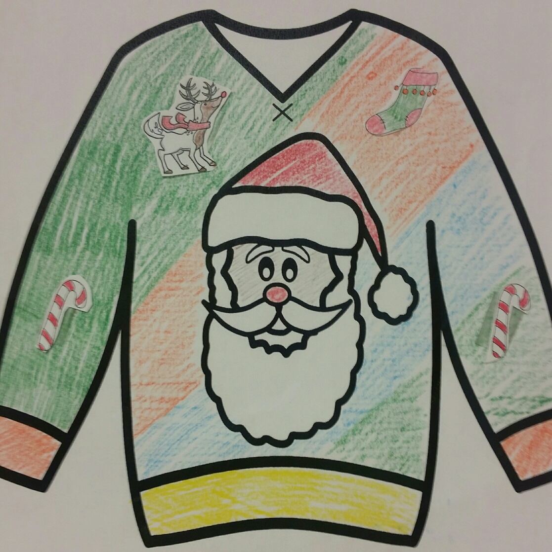 Tacky Christmas Sweater: Most Wonderful MATH of the Year! | Grade 5 ...