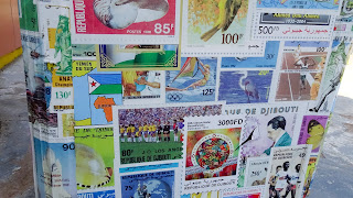 Stamps to send mail from Djibouti