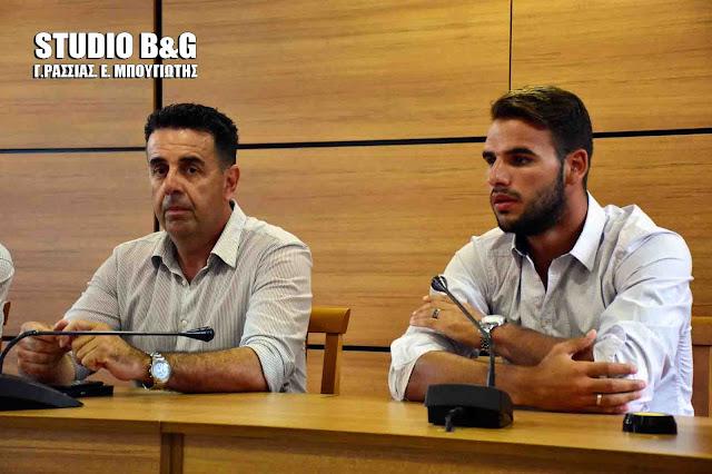 """Π.Ταχτσίδης: Αν δεν παραιτηθούν θα ιδρύσουμε τον """"Πανναυπλιακό Ηρακλή Πρόνοιας"""" και θα προχωρήσουμε"""