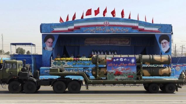 Irán despliega misiles dirigidos a Israel
