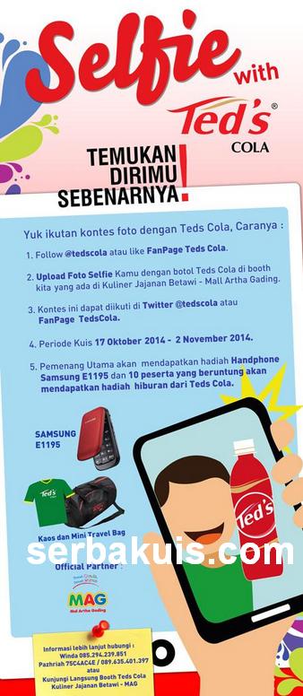 Kontes Selfie With Teds Cola Berhadiah Handphone Samsung