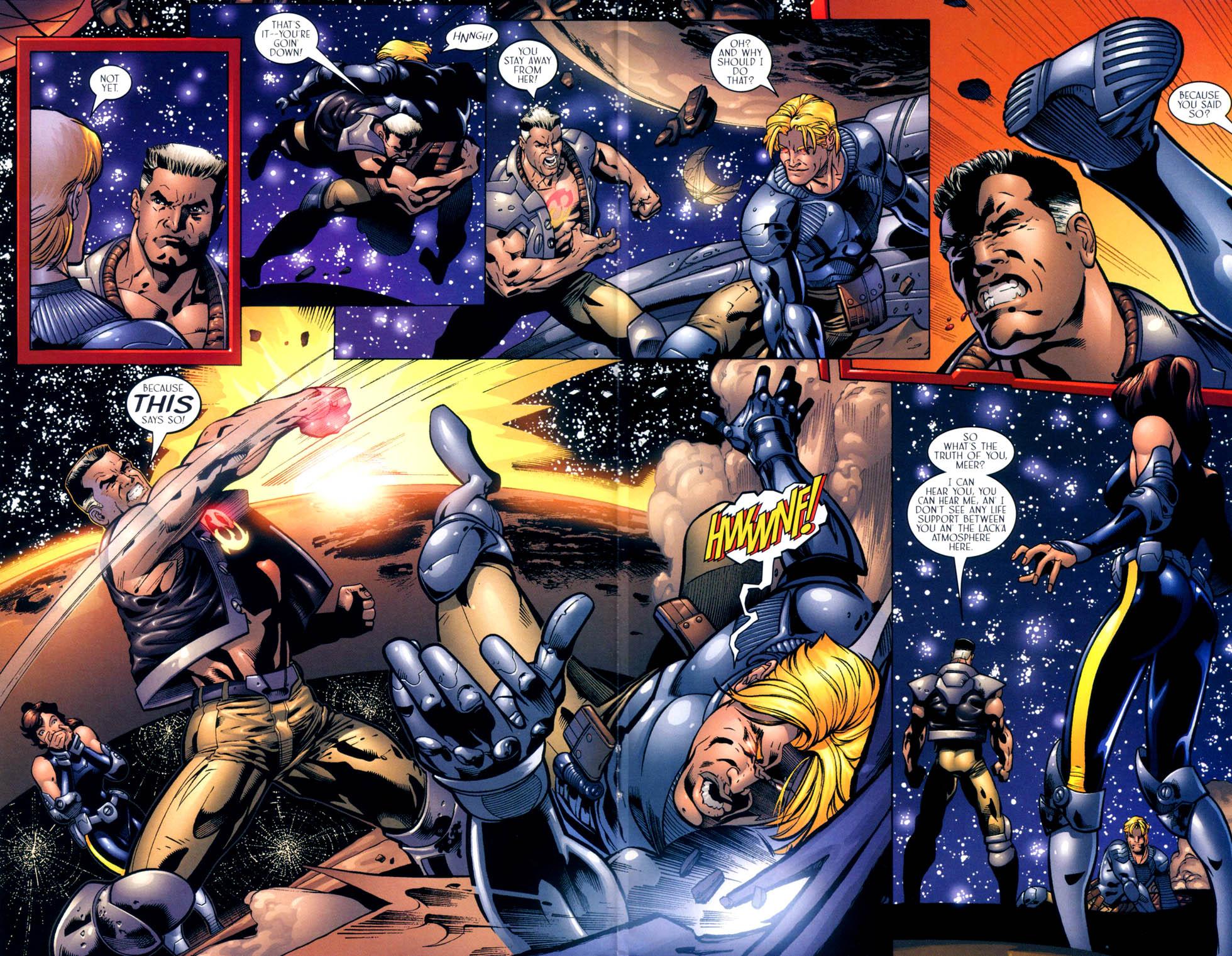 Read online Sigil (2000) comic -  Issue #10 - 17