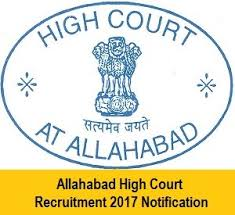Allahabad high court recruitment group d