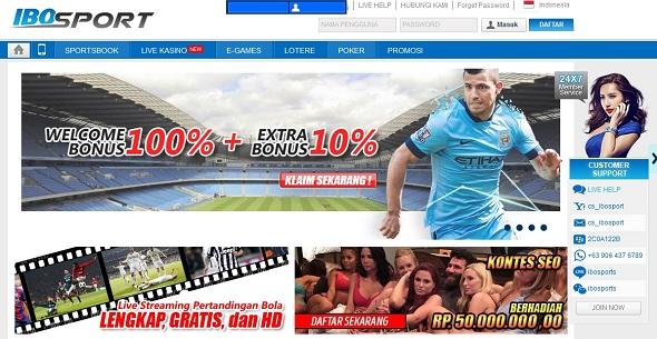 ibosport.com bandar dan agen judi bola online terpercaya