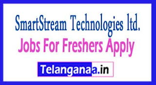 SmartStream Recruitment 2017 Jobs For Freshers Apply
